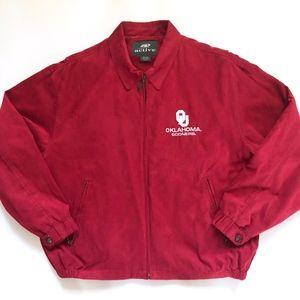 Oklahoma Sooners Red Jacket XL